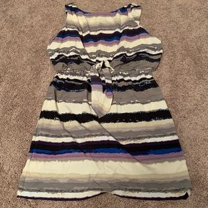 Women's Daisy Fuentes Dress with Tie-Front Accent